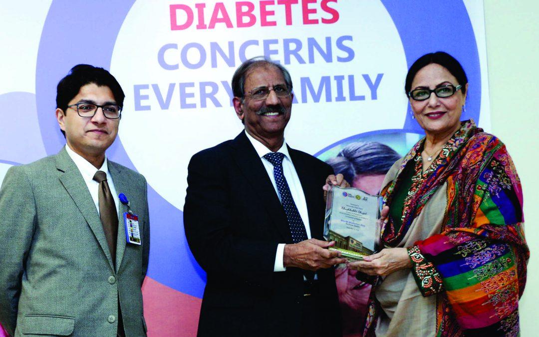 Diabetes concerns award