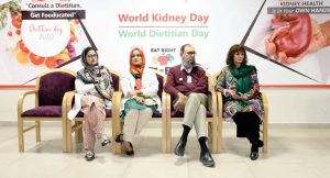 World Kidney Day & World Dietitian Day