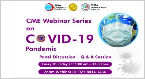 CME Webinar Series on COVID-19 Pandemic
