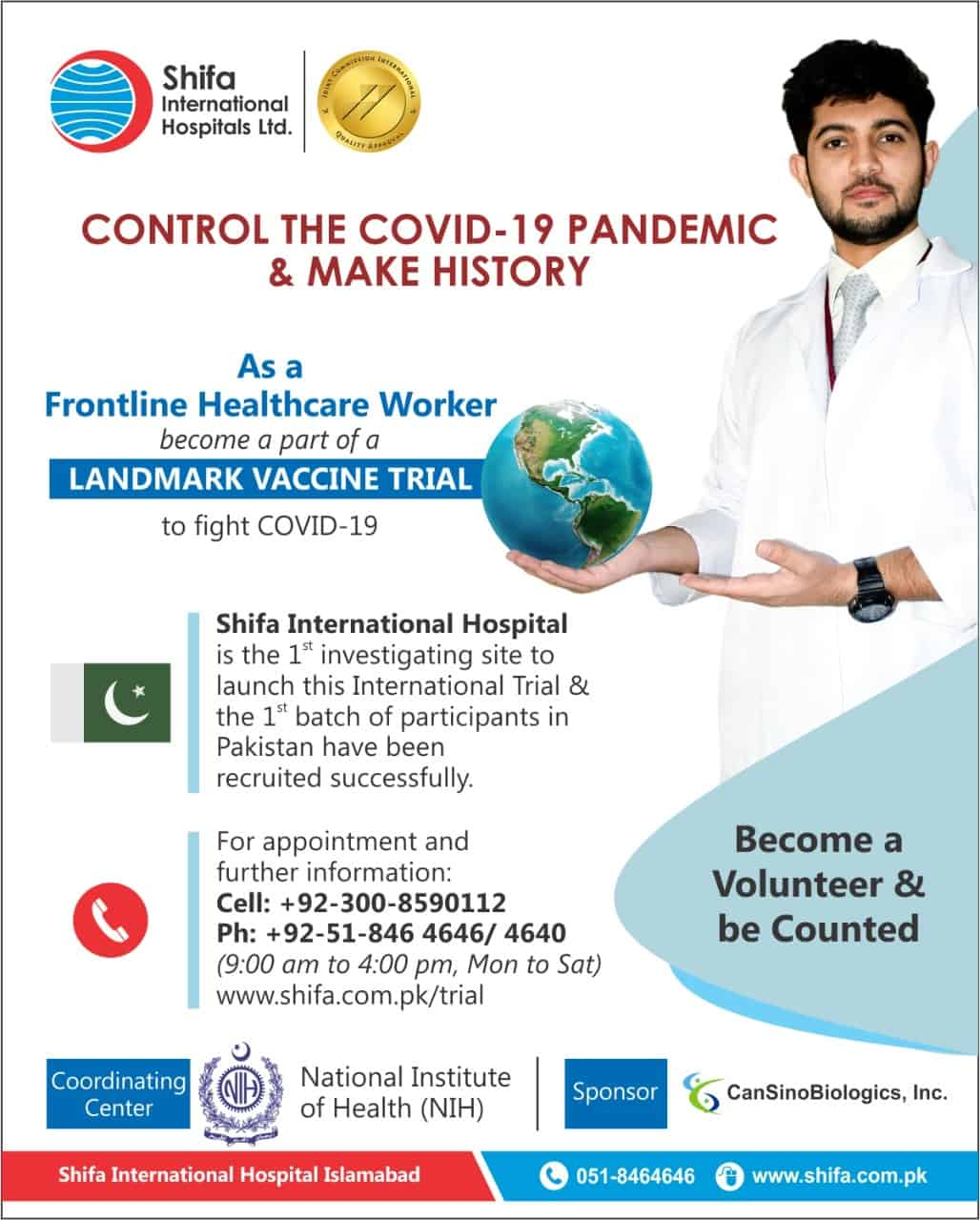 Shifa's top-ranked team of internationally trained cardiologists makes us one of Pakistan's best heart hospitals. We perform complex procedures in cardiology and cardiothoracic surgery