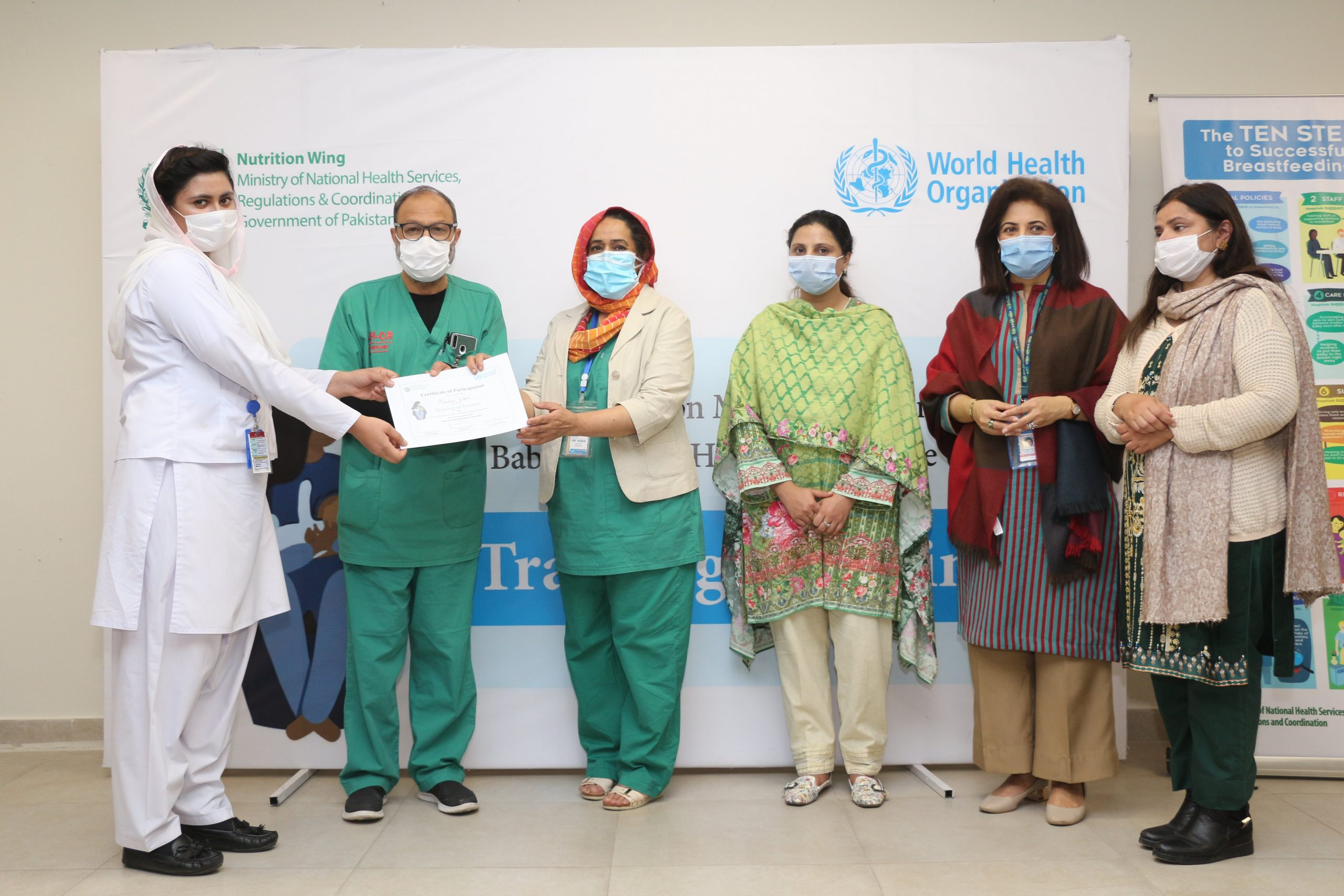 WHO & UNICEF Collaborated Workshop held at SIH as Part of Baby-Friendly Hospital Initiative-min