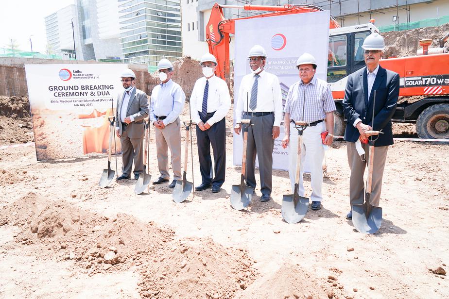 Construction Work for Shifa Medical Center Islamabad