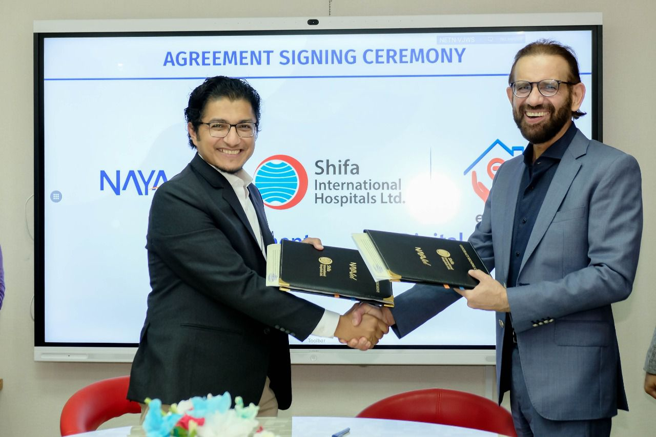 SIH & eShifa Signed MoU with Nayatel Pvt. Ltd. to Acquire Online Payment Integration Solution