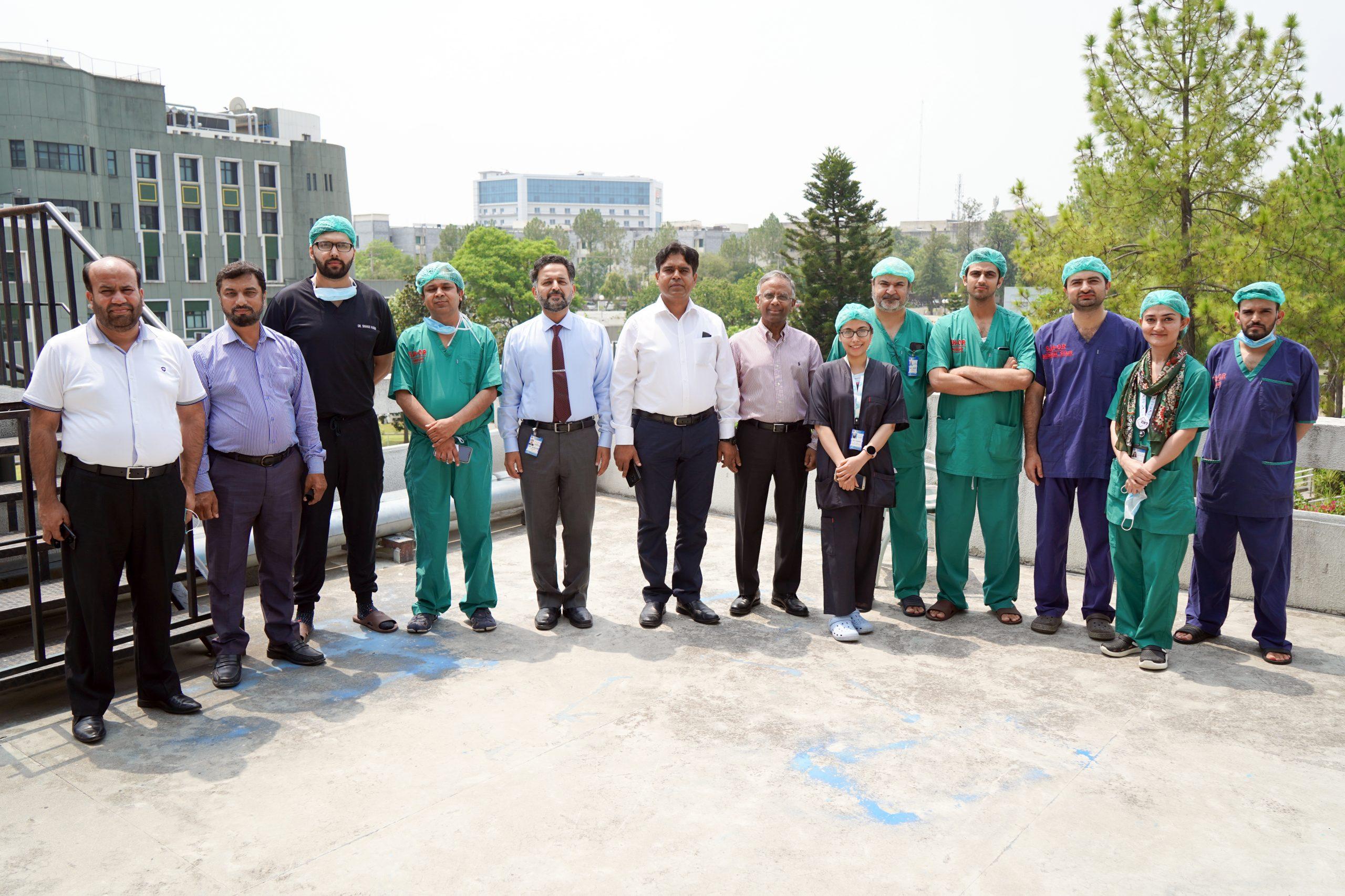 best cochlear implant team pakistan